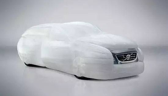 Concept car airbag design