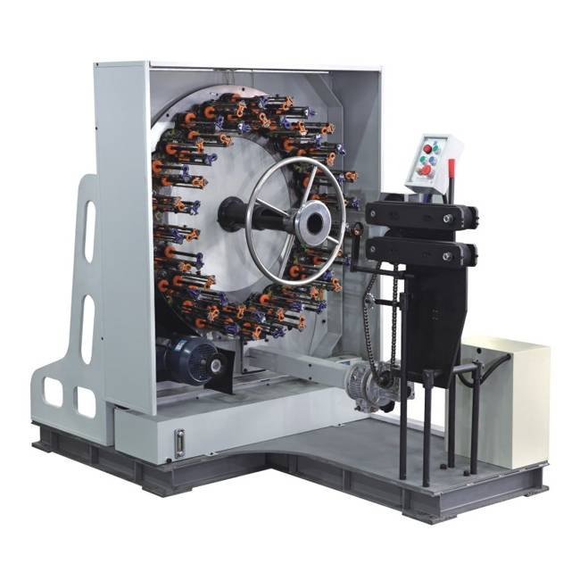 48 Carriers Horizontal Hose Braiding Machine BFB36W-114D Featured Image