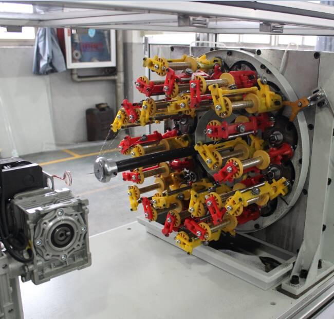 Factory wholesale Sewing Machine Bobbin Winder - 90 Series Medical Hose Braiding Machine BFB24W-90CF – BENFA