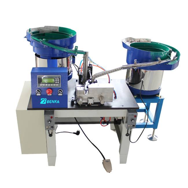 Factory For Lighter Machine Making - Sleeve And Male Nut Assembly Machine BFZP-C2 – BENFA