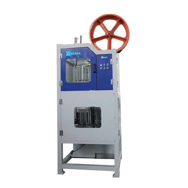 OEM/ODM Supplier Furniture Cabinet Hinge Production Line - 20 Carriers and 24 Carriers  Double Decks Vertical Automatic Hose Braiding Machine BFB 20+24L – BENFA