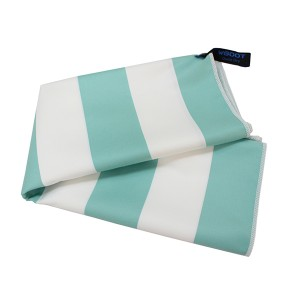 Quick dry XXXL beach towel, Microfiber beach towel, stripe printed beach towel