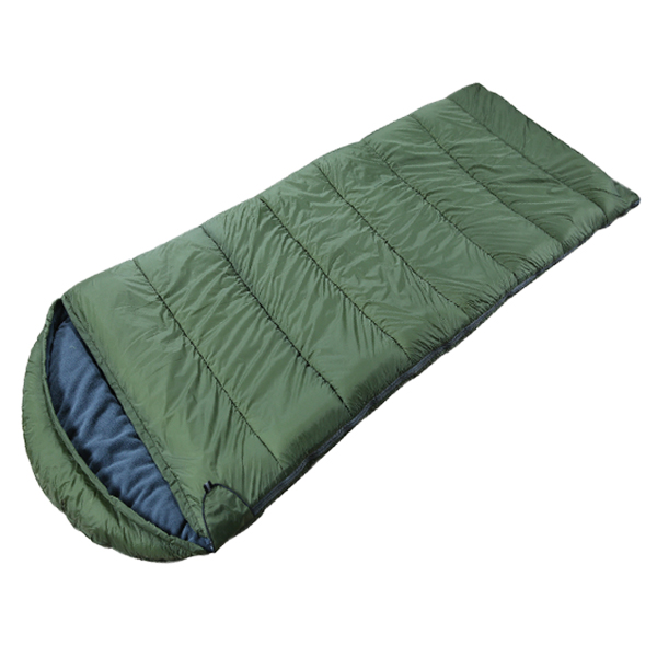 soft touch envelop sleeping bag  with hood Featured Image