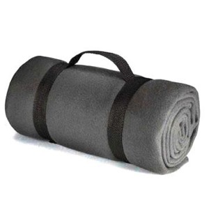 portable polar fleece blanket