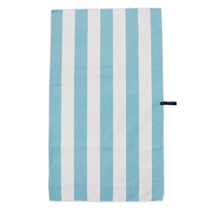 Microfiber beach towel, quick dry beach towel, stripe printed beach towel
