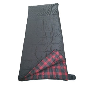 plaid print light weight sleeping ba