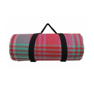 Cheap picnic blanket with stripe printing