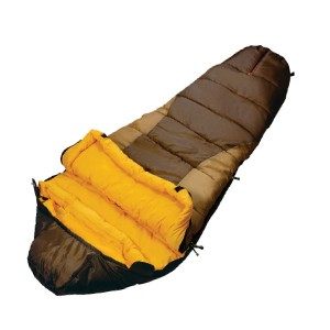 2 side opening 4 season mummy sleeping bag