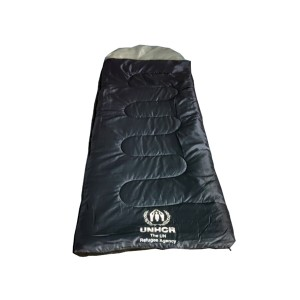 Refugee 3 season sleeping bag with hood