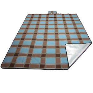 XXL polar fleece picnic blanket