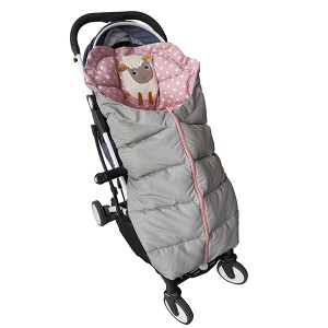 Baby Trolley Sleeping Bag With sheep EMBROIDERY