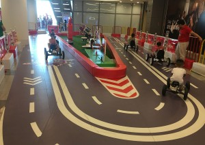 Racing Track Indoor Playground
