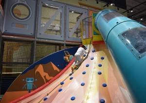 Volcano Slide Indoor Playground