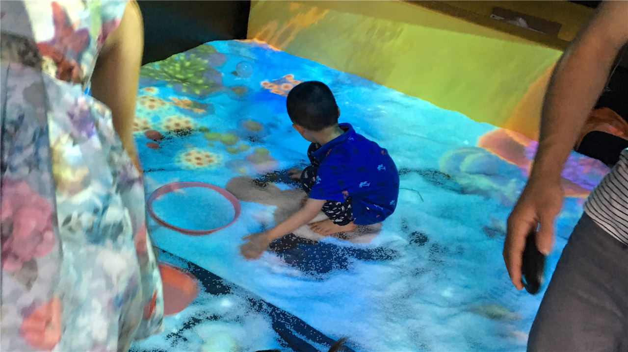 Interactive Sand Pit