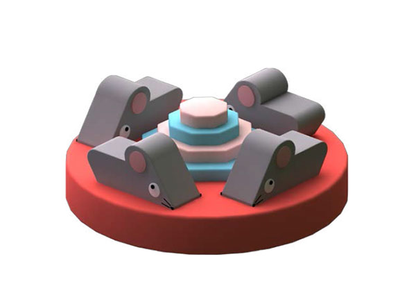 Mouse Carousel Interactive Soft Play