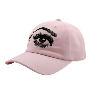 Custom Embroidery 6 Panel Unstructure Baseball Cap Cotton Dad Hat