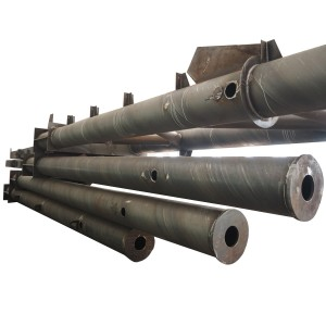 Heavy steel structure pipe cross-section column