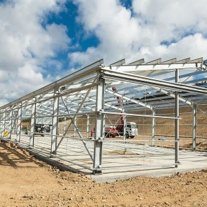 Simple Steel Structure Warehouse