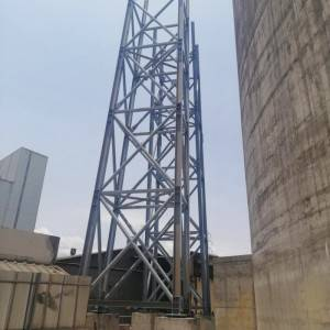 Customized Q355 Steel Structure Tower