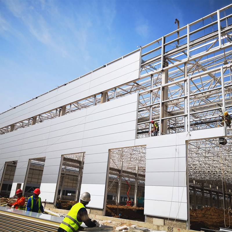 Steel Structure Prefabricated Warehouse and Workshop Building Featured Image