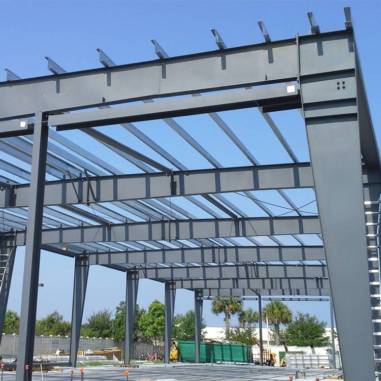 Steel Structure Warehouse Frame Featured Image