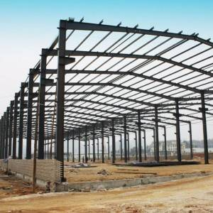 Galvanized Prefabricated Steel Structure Construction Building Hay Storage Shed