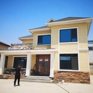 Good Quality Steel Structure Apartment Luxury Gauge Steel Villa House