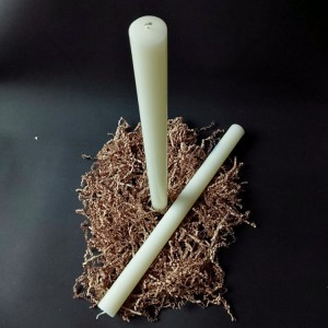 Pillar Candle-4 15 inch long size Vanilla Perfume Oils Paraffin Wax Pillar Stick Candles