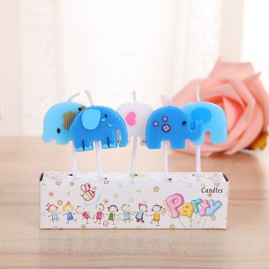 Supply cute cartoon birthday cake candle