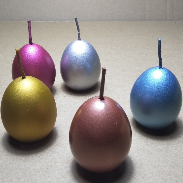 Supply colorful easter egg candle Featured Image