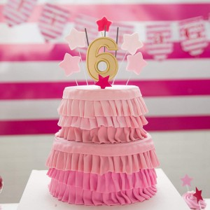 Wholesale gold digital birthday cake candles