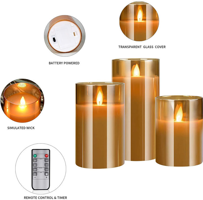 Glass LED Candle Featured Image