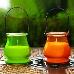 Citronella Candle-3 summer outdoor use citronella scent mosquito dislike hanging jar candle