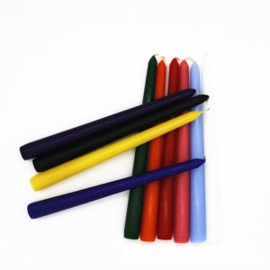 Luxury Elegance Colorful Long Taper Candles