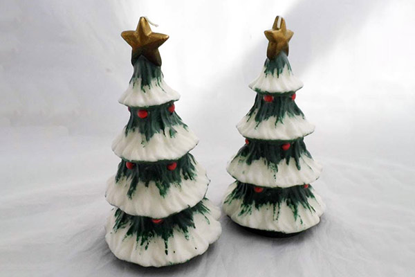 Santa Claus Tree Candles