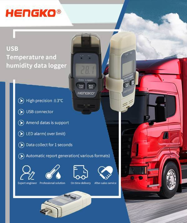 Temperature and humidity monitoring of Express Industry
