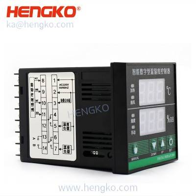 RS485 digital sht series temperature humidity control unit/temperature and humidity controller for eggs incubator