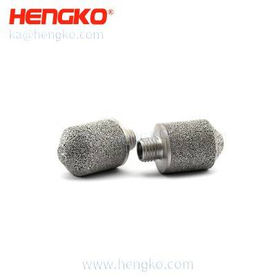SHT30 High Accuracy Digital 0~100% RH Low Consumption I2C Output Soil  Sintered 316L Stainless Steel Filter Humidity & Temerature sensor probe Caps, HK103MBU