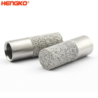 HK66MEN temperature and humidity sensors protection cover casing, Micron porous stainless steel 316L powder sintered