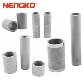 stainless steel filter tube cartridge