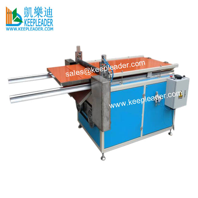 Cylinder Box Lid Making Blister Cutting Machine of Lid_Cover Cutting for Cylinder Box Making in PVC_PET Cylindrical Box Making Featured Image