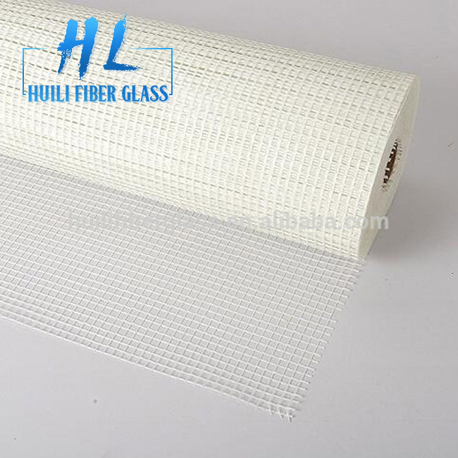160g 4x4mm white fiberglass mesh sticky mesh for sell