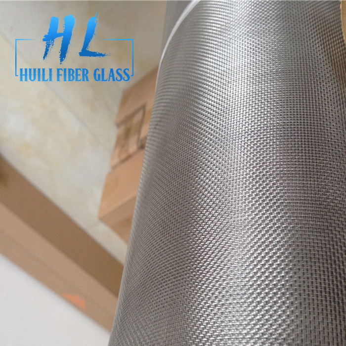 18*16 0.19mm Stainless Steel Powder Coated Insect Mesh Screen For Balcony