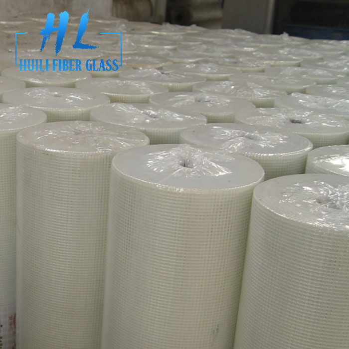 1m x 50m roll White color EIFS Fiberglass Mesh for stucco