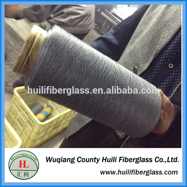 2015 new products hengshui PVC coated glass fiber yarn