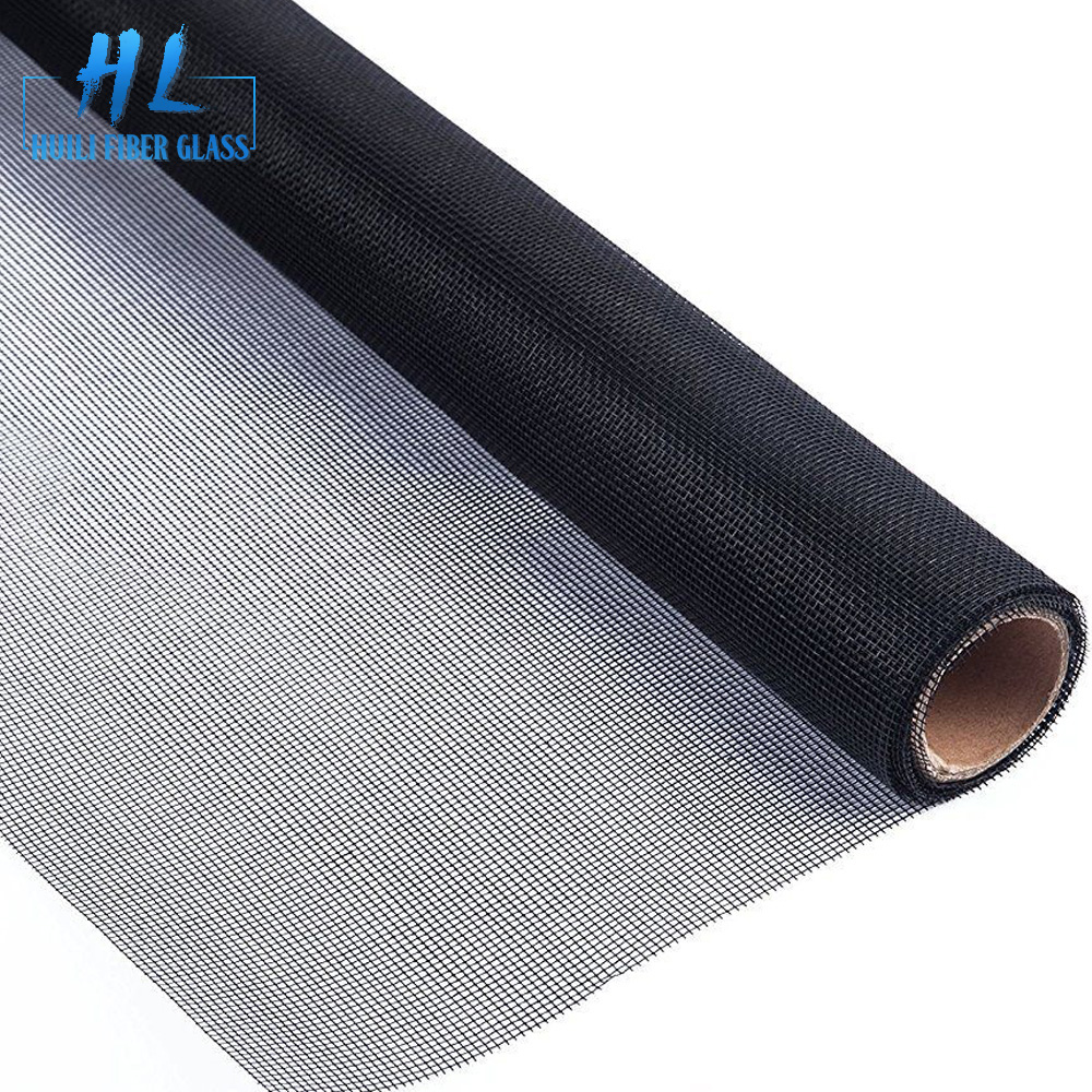 72 x 100ft black fiberglass insect protection mosquito screen