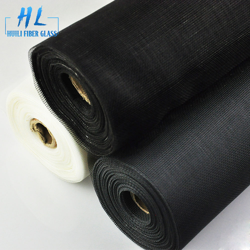 84 x 100′ roll black fiberglass screen for window screen for insect