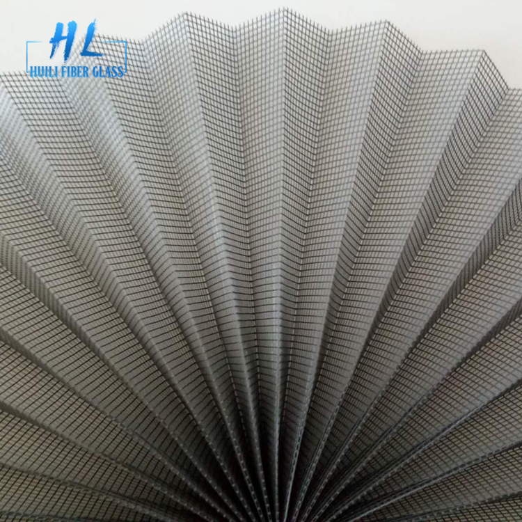 polyester plisse mosquito screen mesh