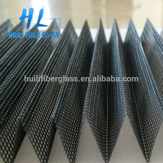 High Quality Polyester Plisse Screen/Insect Proof Pleated Window Screen