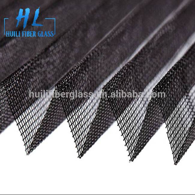 High Quality Polyester Plisse Screen Insect Proof Pleated Window Screen